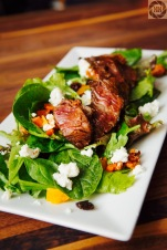 Little Sister's Salad with Seared Steak